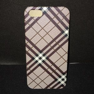 Other - iPhone 5 Plaid Patterned Cell Phone Case